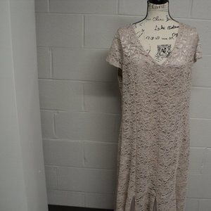 Cardalite Women's Gold with sparkles dress size 3x